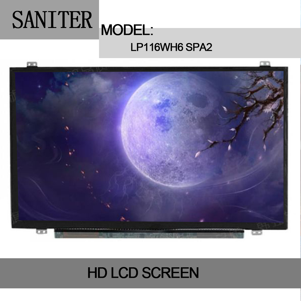 SANITER Apply to Dell Inspiron 11 3147 3148 3152 Touch Screen Assembly LP116WH6 SPA2 Laptop LCD Screen dell inspiron 3558