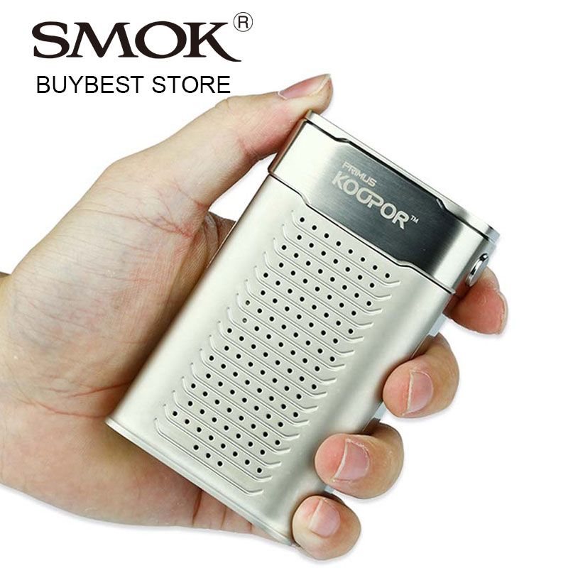 100% Original Smok KOOPOR Primus TC Box MOD 300W Without 18650 Battery Support TC/VW Modes Big OLED Display E-cigs Vaping Mod