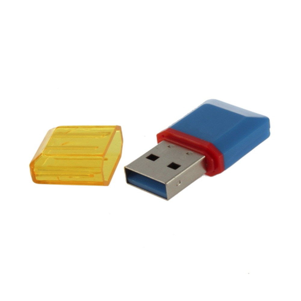 1pcs Diamond USB 2.0 Hi-Speed  SDHC TF Card Reader