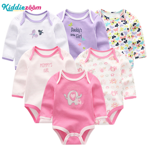 Image 4 - 新しい男の赤ちゃんロンパース服女の子遊び着幼児ジャンプスーツ長袖ベビー服の夏の少年 roupas デパジャマベベ服