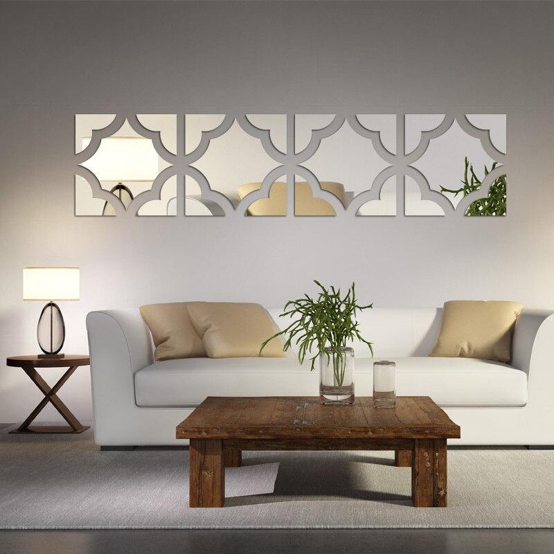 2017 di promozione nuovo 3d adesivi murali vendita calda soggiorno ...