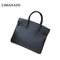 CHSANATO Luxury Designer Handbag High Quality For Women Famous Brand Key Lock Handbag Leather Ladies ToteBolsa Feminina Sac