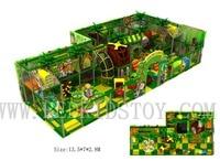 Designed for Kazakhstan Customer Jungle Themed Children Playground Indoor HZ 170206A