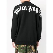 Hip japan Fashion palm angels Streetwear Men Women OVERSIZE Hoodies Sweatshirts Kanye West Long sleeve letter Sports shirt