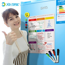A3 Daily Magnetic Calendar Whiteboard Weekly Planner Dry Wipe White Board Fridge Magnet 30*40cm Flexible Message Board For Notes