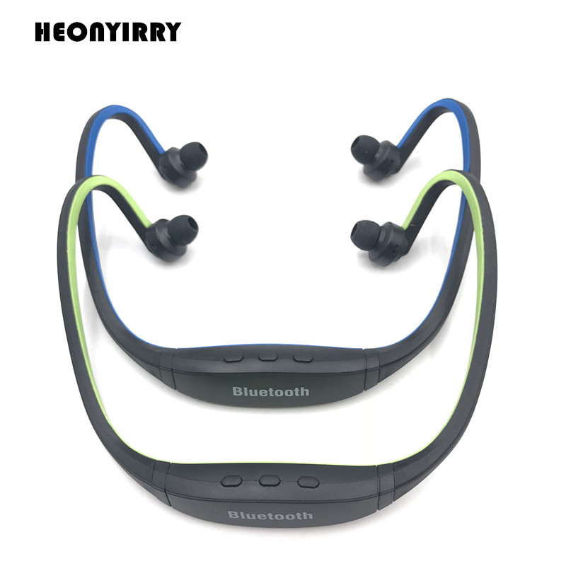 Sports Bluetooth Headphones S9 Support TF/SD Card Wirless Handfree Earphone Auriculares Bluetooth Headset MIC For iphone Huawei 50pcs lot original s9 bluetooth headset s9 sports headphones wireless headset for iphone android iso