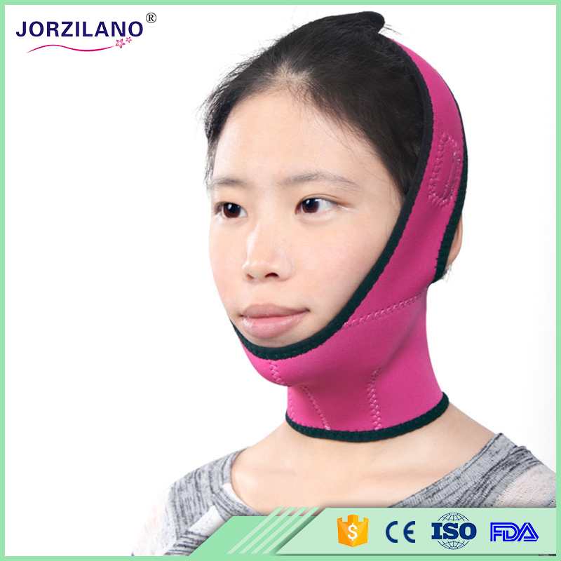 Full Face-lift masks Health Care Thin Face Mask Slimming Facial Thin Masseter Double Chin Beauty Face Lifting Bandage Belt 7pcs face mask 2n the skin tight skin face care thin face bandage powerful v line slimming product lifting beauty skin care