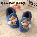 Cartoon Fox Male And Female Baby Child Cotton Slippers Shoes New Autumn And Winter Baby Shoes WMC2116