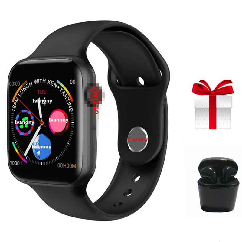 Latest SmartWatch IWO 10 Airpods set Bluetooth 44mm Sports Smart Watch case for Apple ios iphone