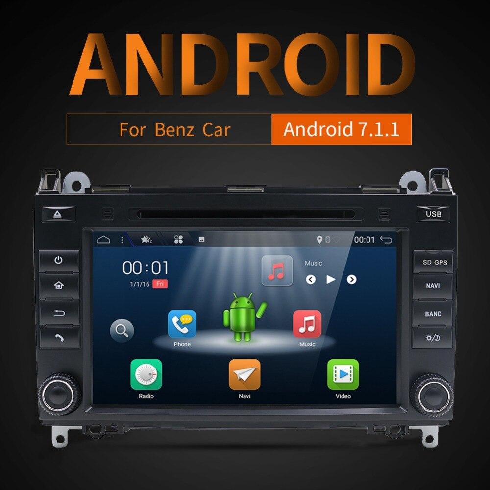 8''For Mercedes Benz Sprinter B200 W209 W169 W169 B-classe W245 B170 Vito W639 deux DIN lecteur DVD de Voiture radio GPS multimédia stéréo