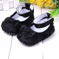 Baby Girls Princess Shoes Infant Baby Shoes Toddler shoes soft sole Rose flower First Walkers