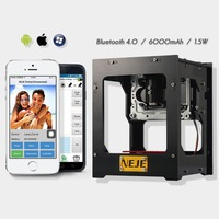 DK BL 1500MW laser power DIY laser engraving machine Desktop Art Laser Engraver Printer Bluetooth 4.0/6000mAh