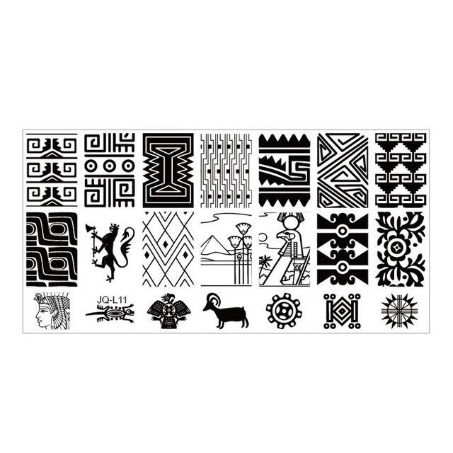 Beautiful Hot Nail Art Salon Product Nail Design Stamping Image