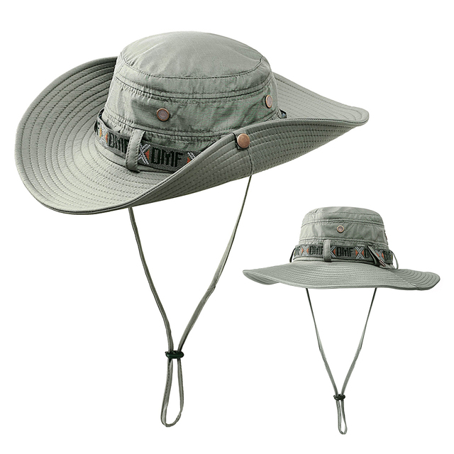 bcbdafa590ca3 Men Women Fisherman Sports Cap Outdoor Foldable Sun Hat Summer Safari Cap  Fishing Hunting Hat Mountain Climbing Sun Hat
