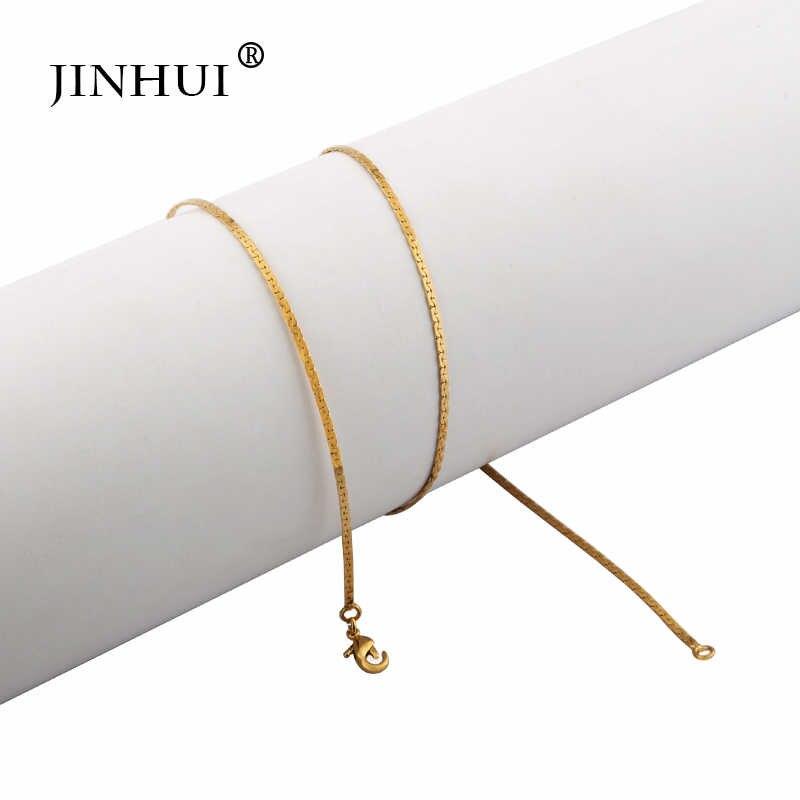 ジンホイアフリカ中東女性流行のネックレスの長さ 45 センチメートルファッションジュエリーの誕生日プレゼント愛好家のネックレスギフト