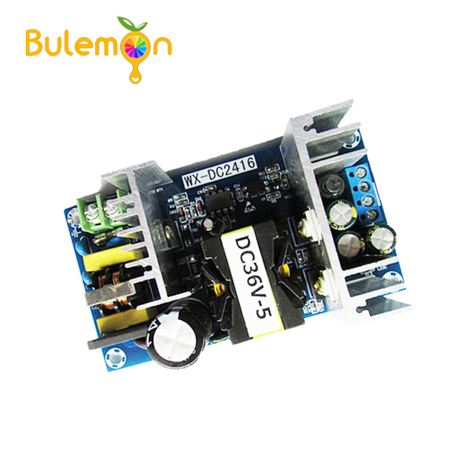 5 unids/lote convertidor de CA 110 V 220 V DC 36 V MAX 6.5A 180 W regulado transformador controlador de potencia