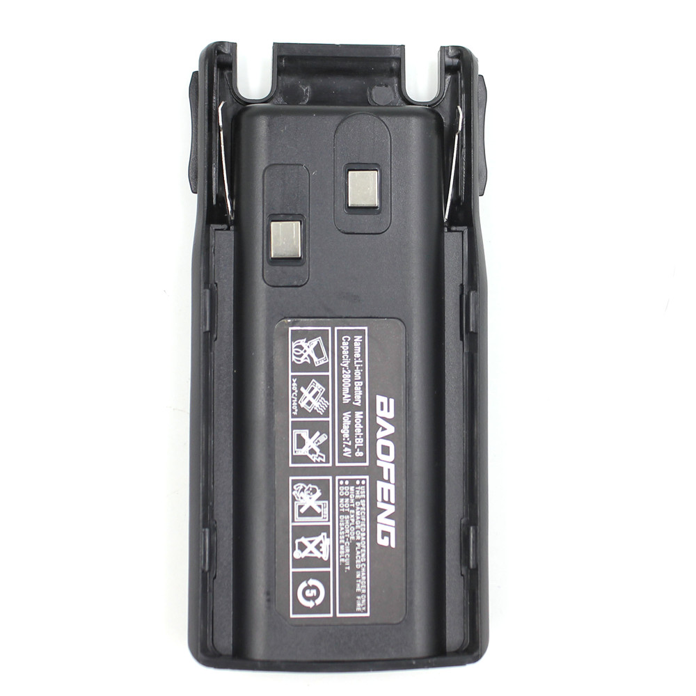 Original Brand New BT-UV82 7.4V 2800mah Li-ion Battery For Baofeng UV-82 Two Way Radio