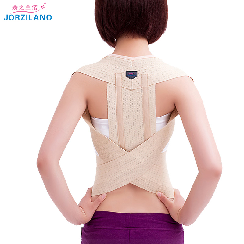 JORZIANO Back Posture Corrector Clavicle Support Belt Back Slouching Corrective Posture Correction Spine Braces Supports Health