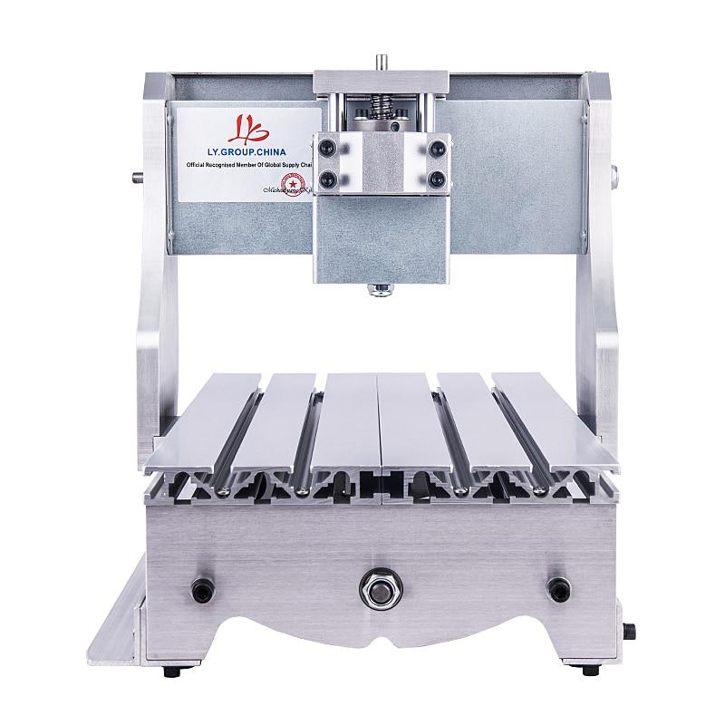 Mini CNC Frame kit diy wood cnc router frame 3020 aluminum lathe body cnc 6040 router 1605 ball screw cnc frame kit diy cnc engraving machine