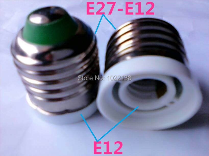 Lamp Holder Converters 10pcs E27 To E12 Led Screw Socket Adapter Lamp Base Holder E27-e12 Converter Extender Bulb Base Candle Lamp Holder Free Shipping Special Summer Sale