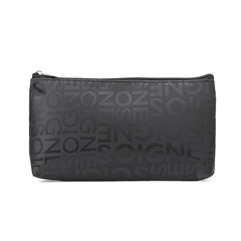 Pen Pencil Case Travel Cosmetic Bag Multifunction Toiletry Zipper Wash Organizer
