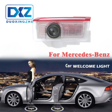 LED Car Door Welcome Laser Projector Logo Door Ghost Shadow LED Light for Mercedes benz w212 w166 w176 E200 E300 E260 AMG