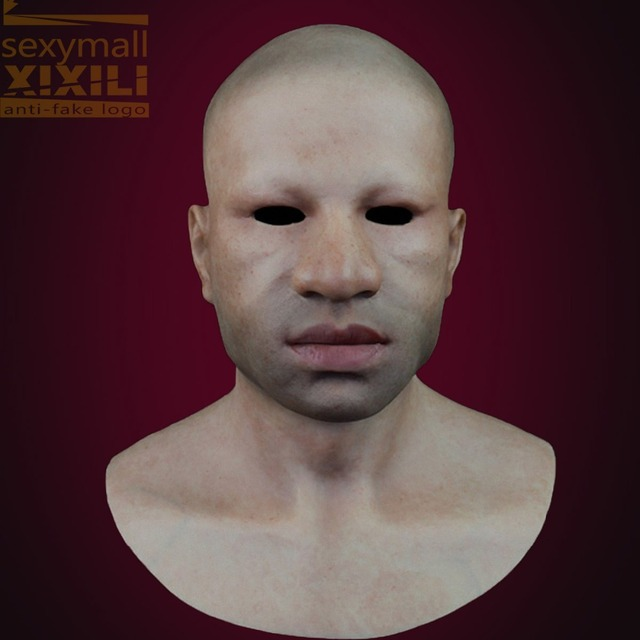 SN-4 2016 New Top quality silicone realistic mask for party old man mask transgender