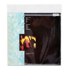"""12 """"32.3 cm * 32cm 50 pces opp gel gravação luva protetora saco de proteção auto adesivo para cd turntable lp vinil registros"""