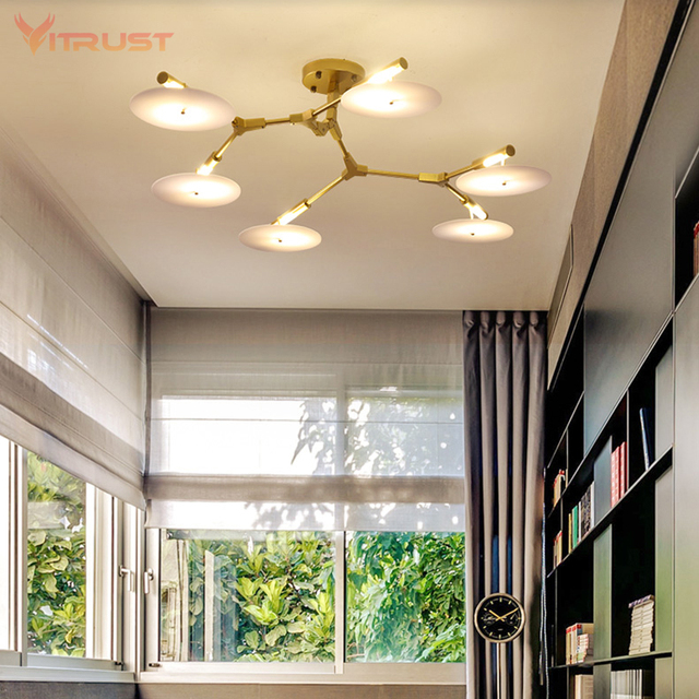 Novelty Pendant Lamp Natural Tree Branch Hanging Light Hotel Dinning Room Creative Loft Chandelier Ac110 240v