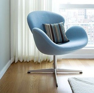 Ordinaire Swan Chair Modern Minimalist Glass Steel Glass Discuss Creative Casual Cafe  Chairs Reception Office Den Living