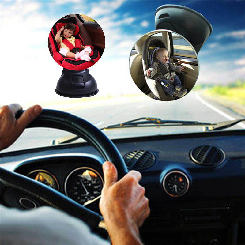 Newest Child Mirror Cars Back Seat Safety Auto 360 Adjustable Baby Rearview Mirror Car Styling Interior Accessories Universal