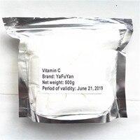 Yafuyan 2017 NEW Hot Sale Food Grade Vitamin C L Ascorbic Acid VC Powder 500g VC