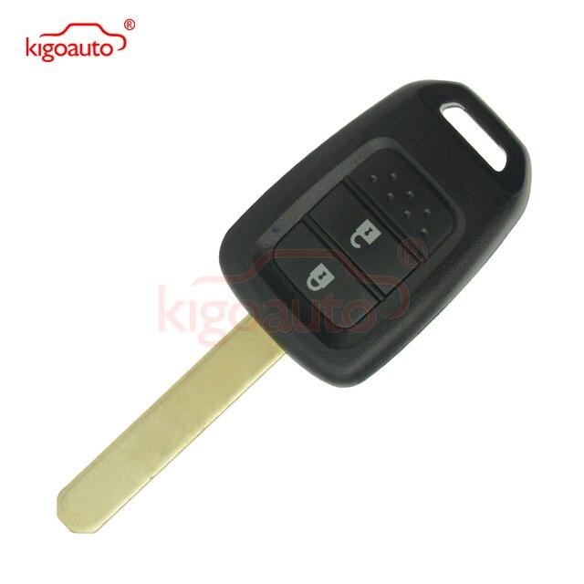 Remote Key 2 Button 313 8mhz Hon66 Transponder Chip Id47 For Honda