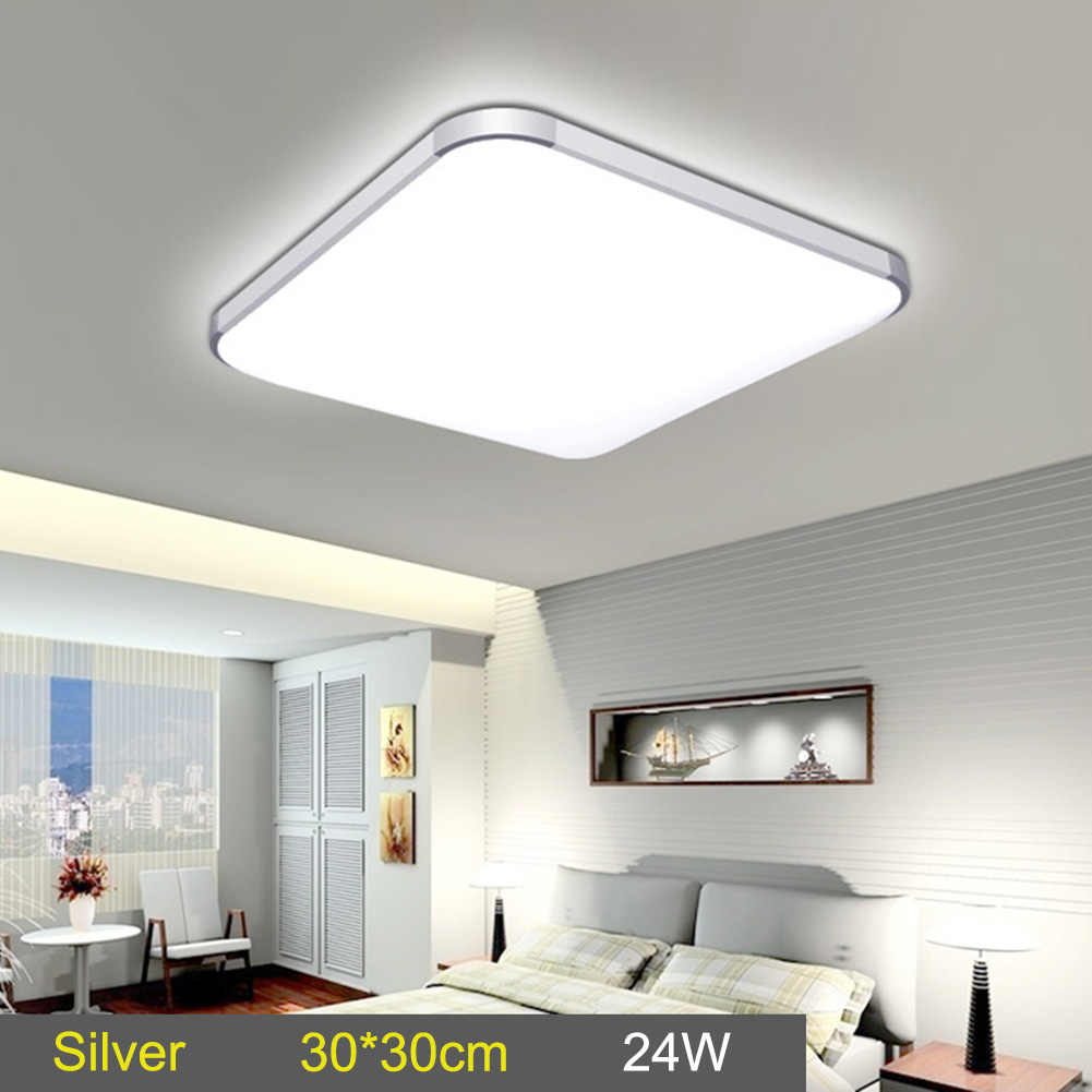 Newest LED Ceiling Down Light Lamp 24W Square Energy Saving For Bedroom Living Room