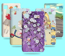 Hot Sale Cartoon Lovely Patterns Flower Skin Plastic Hard Case Cover For Samsung Galaxy S I9008 i9001 I9000