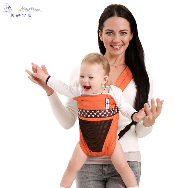 5c8f1e11441 2-30 Months Breathable Multifunctional Front Facing Baby Carrier Infant Baby  Sling Backpack Pouch Wrap Baby Kangaroo Breathable