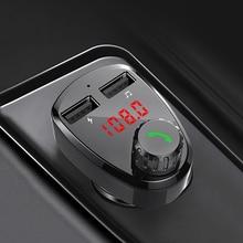 CDEN car mp3 music player Bluetooth receiver FM transmitter dual USB charger U disk TF card Car Kit