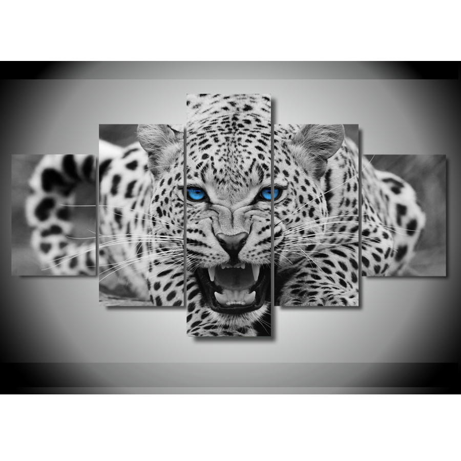 White Tiger Canvas Wall Art