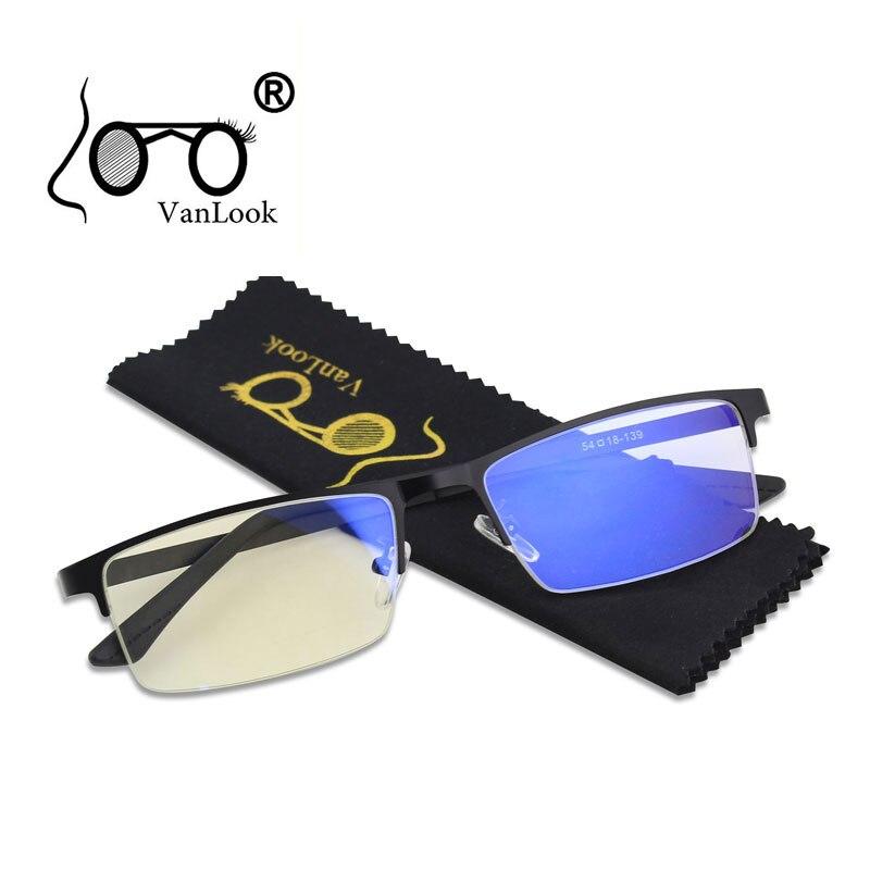 Coscienzioso Degli Uomini Blu Di Blocco Luce Occhiali Per Occhiali Da Vista Per Computer Blaulicht Protezione Da Gioco Blu Ray Occhiali Anti-radiazioni Antiriflesso