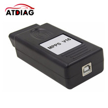 High Function Professional ECU Chip Tuning MPPS V16 Checksum CAN Flasher Remap OBDII ECU Programmer MPPS Black For EDC 15/16/17