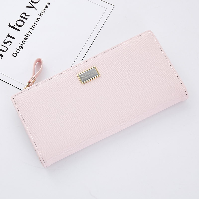 Fashion Women Leather Wallet Casual Daily Long Solid PU Purse Card Holder Bags For Teenager Girls Standard Wallets Dropshipping cartoon anime league legends wallets creative gift purse students boy girls leather bags men women fashion casual short wallet