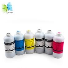 WINNERJET 1000ML Dye Ink Refill Kit for Canon IPF 650 655 750 755 760 765 Printer ( pfi 102/104, 6 colors, 1 liter/bottle)