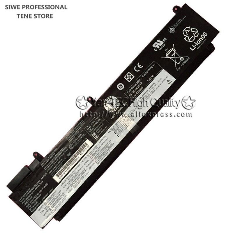 24Wh D'origine batterie d'ordinateur portable pour lenovo ThinkPad 00HW022 00HW023 00HW025 T460S SB10F46460 Livraison Gratuite