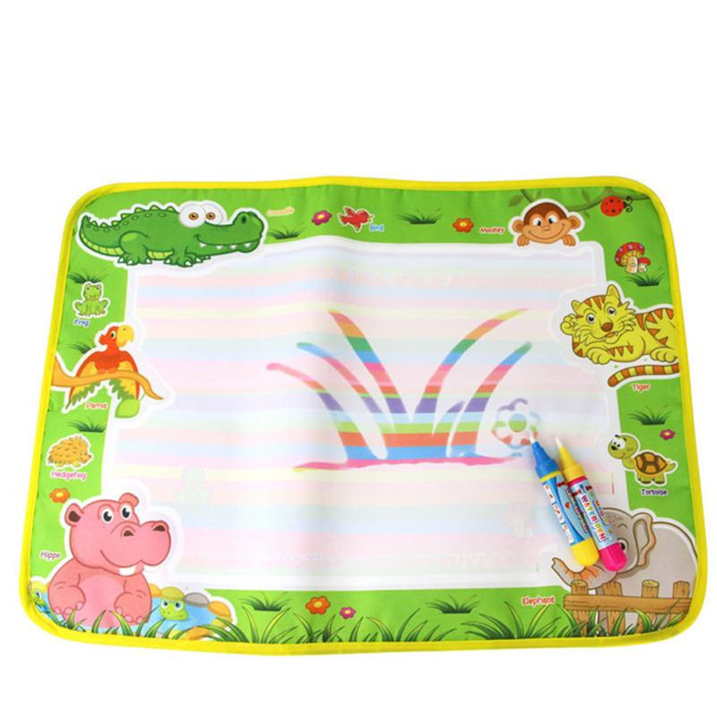 New Drawing Toys Water Drawing Mat 50 * 36 CM Board Painting and Writing Doodle With Magic Pen Non-toxic Drawing Board for Kid20