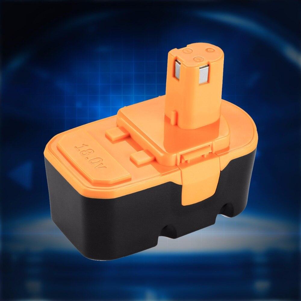 Nouveau 18V 3000mAh 3.0Ah Batterie De Remplacement pour Ryobi ABP1801 ABP1803 BCP1817/2SM B-1815-S 1322401 1323303 BID-1801M