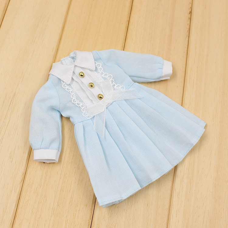 Neo Blythe Doll Autumn Dress with Long Sleeves 2