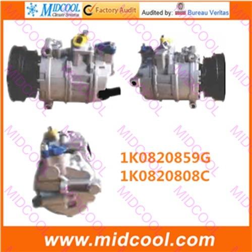 HIGH QUALITY AUTO AC COMPRESSOR PXE16  FOR 1K0820859G 1K0820808C