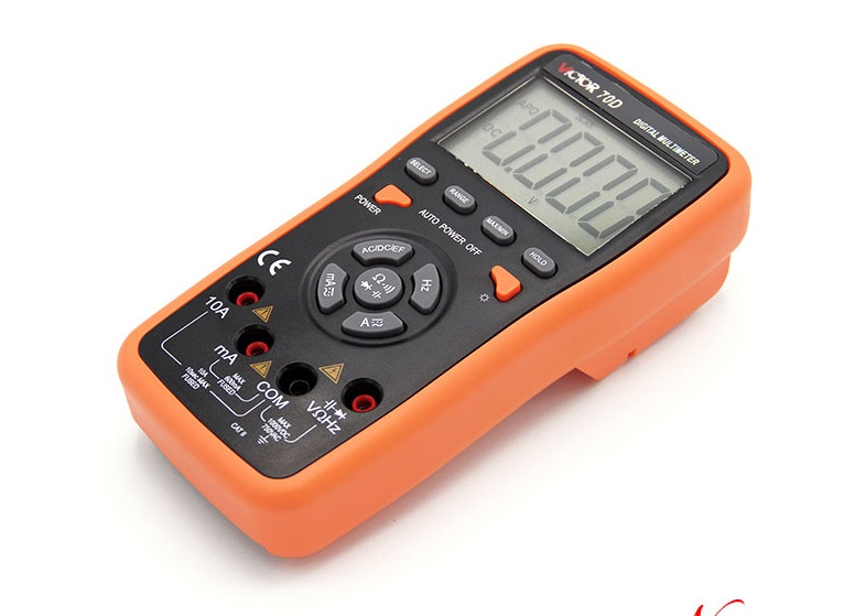 Ammeter Multitester VICTOR 70D Digital Multimeter Resistance Capacitance Victor Multimeter VC70D ammeter multitester 2000 counts resistance capacitance inductance temperature victor digital multimeter vc9805a