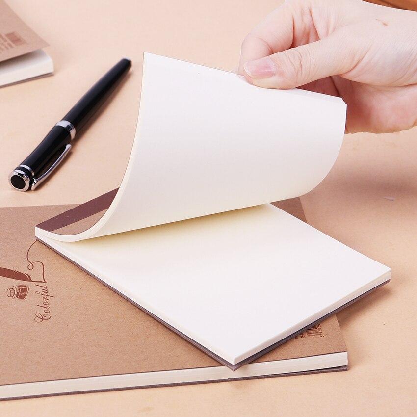 Retro Kraft Skizze Begegnen Graffiti Blank Notebook Kreative Notebook Notizblock Buch Tagebuch Buch Schule Schreibwaren Verpackung Der Nominierten Marke 1 Stück 60 Blatt