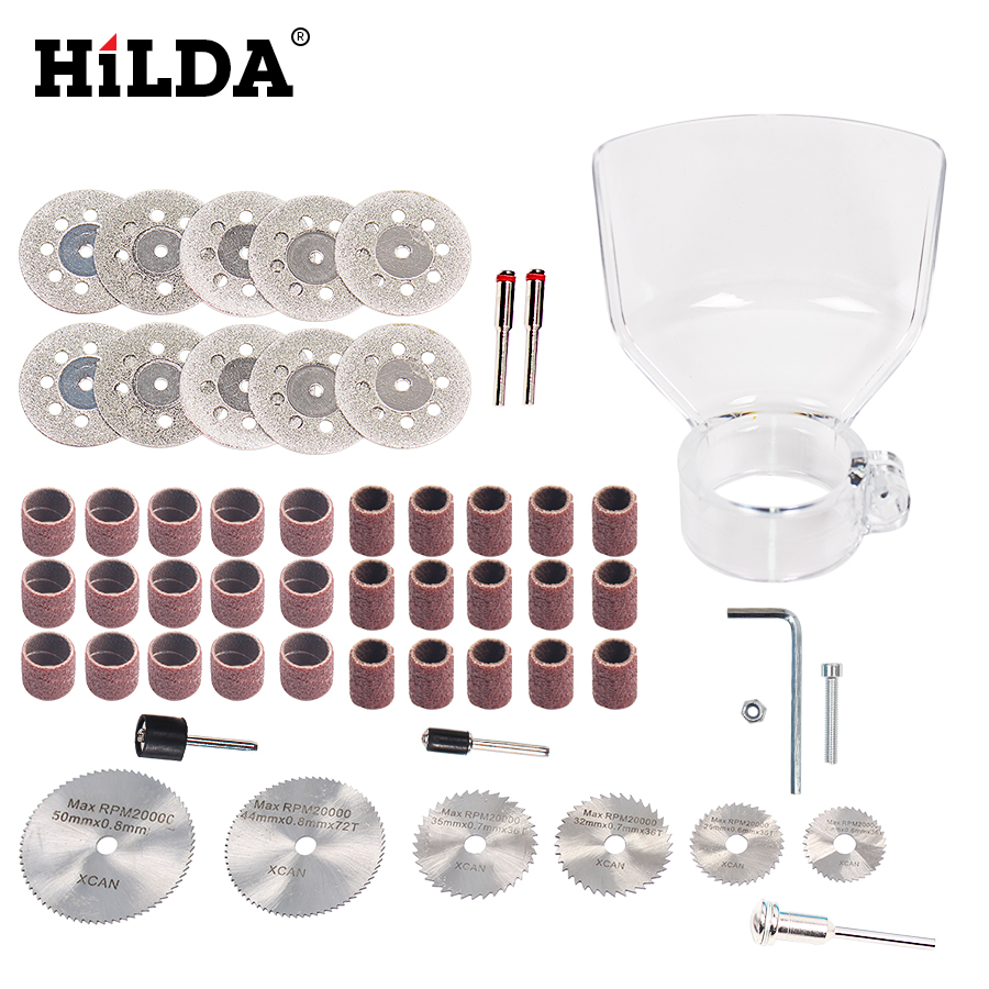 HILDA For 400W Accessories Wood Metal Engraving Electric Rotary Tool Accessory for Dremel Bit Set Grinding Cutting CutHILDA For 400W Accessories Wood Metal Engraving Electric Rotary Tool Accessory for Dremel Bit Set Grinding Cutting Cut